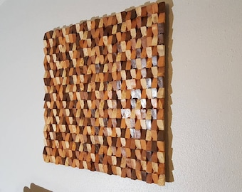 Wood Wall Art Wood Wall Decor Wood Wall Sculpture Wood Wall Etsy