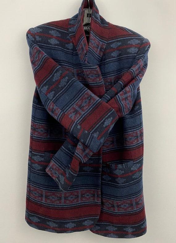 90's Oversized Southwestern Navajo Blanket Blazer - image 2