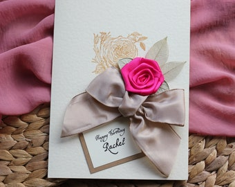 Personalised Birthday Card WifeLarge Size Handmade 31st Luxury 37th For Her 32nd 33rd 34th 35th 36th 38th 39