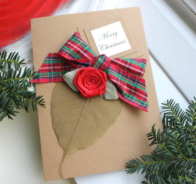 Christmas Card Boyfriend Romantic Handmade Personalised Unique