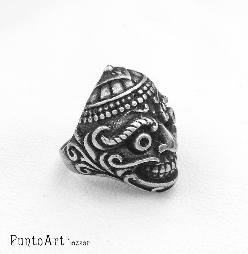 Silver Skull Ring Hipster Ring Steampunk Ring Gothic Jewelry Ring Calavera Ring Contemporary Ring Sterling Silver 925 Skull Jewelry