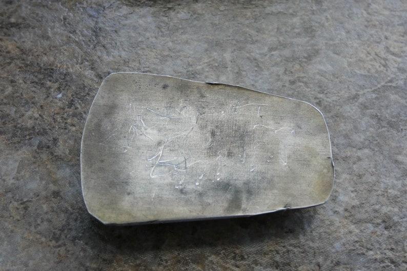 ? Large Southwestern Vintage magnificent Jasper silver Pendant