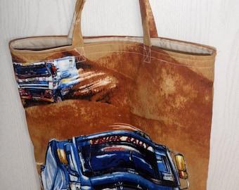 tote bag - shopping bag - car