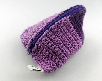 wallet berlingot cassis and violet