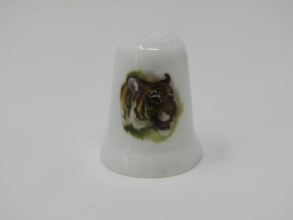Porcelain China Thimble Chinchilla