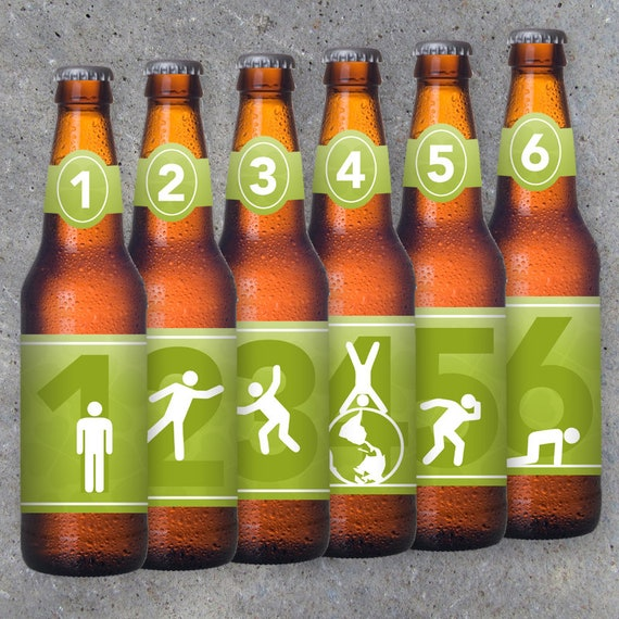 photo regarding Printable Beer Bottle Labels called St. Patricks Working day Consuming Advancement Beer Bottle Labels