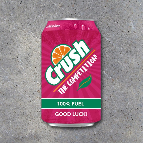 Good Luck Pop Can Wraps Printable Sports Labels To Fit Strawberry Crush Game Day Locker Treats Diy Gift Ideas For Basketball Soccer