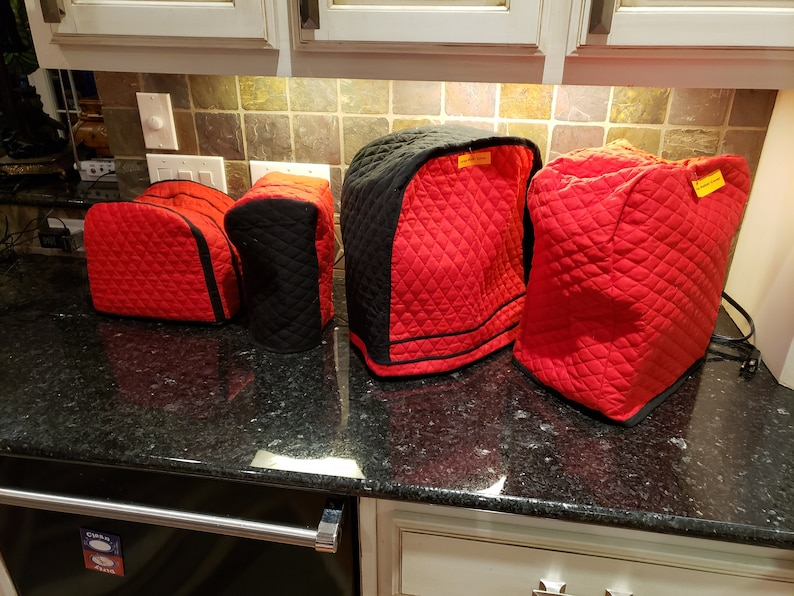 Quilted Small Kitchen Appliance Covers