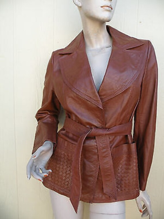 161b2943ead5d Spring Clearance Sale    Vintage 70s WILSONS Leather Jacket