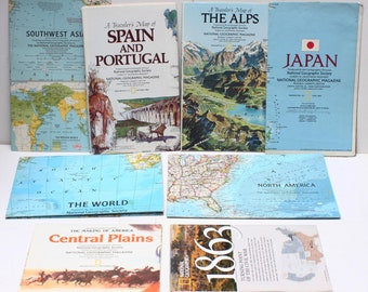 North Of Spain Map.North Spain Map Etsy