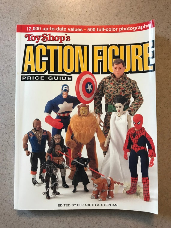 Toyshop S Action Figure Price Guide Edited By Elizabeth A Etsy