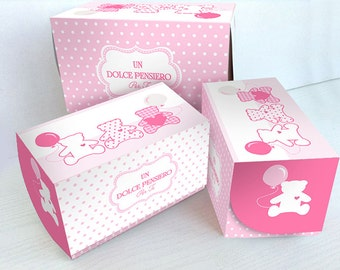 Double cupcake box + 2 cups
