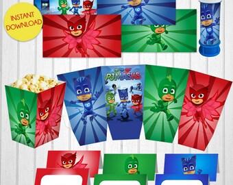 Pj Masks party kit - Digital
