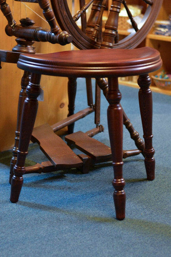Wondrous Spinning Stool Kromski Spinning Wheel Stool Three Legged Stool Wooden Stool Spin Chair Spinning Seat Creativecarmelina Interior Chair Design Creativecarmelinacom
