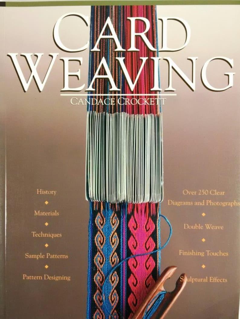 Book Card Weaving by Cancace Crockett Card Weaving Book How image 0