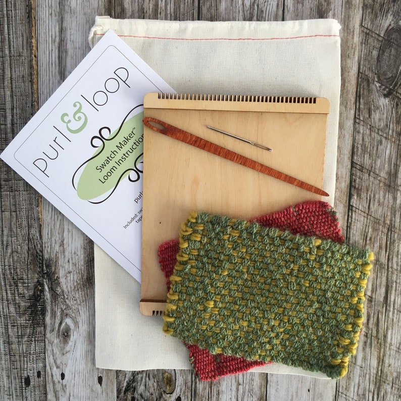 Birch Swatch Maker Loom From Purl And Loop Use For Sampling Etsy