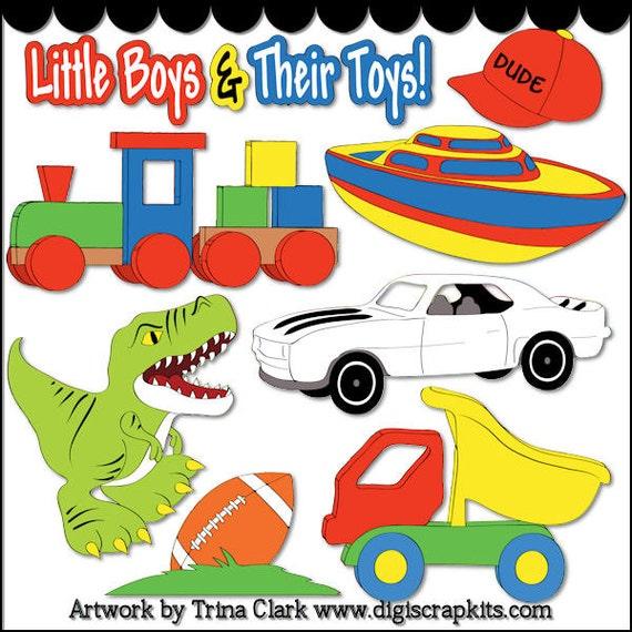 Toys For Boys 1 Digi Web Studio Clip Art Download By Trina