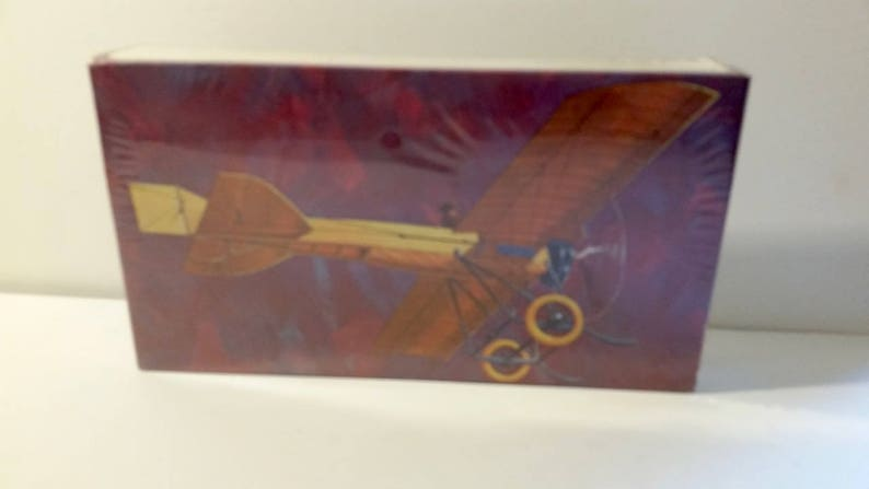 Vintage airplane 1911. Vintage Model Airplane Unopened PYRO Deperdussin airplane P603-100 NOS 148 scale