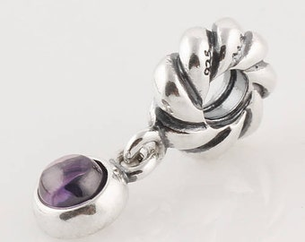 747aa60e1 ... shopping pandora silver and amethyst dangle charm 859ac 6ec28