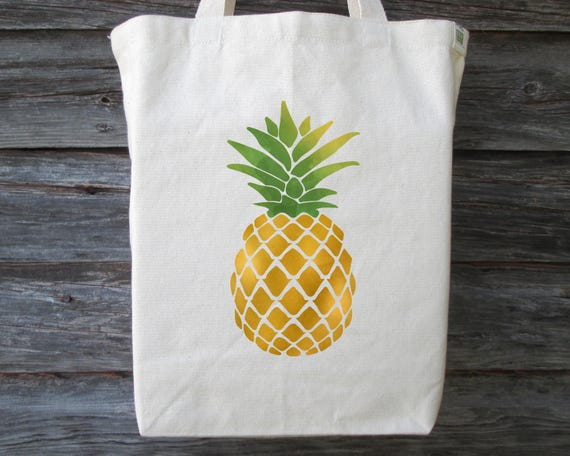 Cotton Tote Cotton Tote Pineapple Canvas Canvas Pineapple BagEtsy Cotton Tote BagEtsy Canvas Pineapple Yy6gb7f