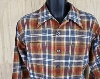 02368222577c9 Men's Vintage Shirt/ Van Heusen Ivy Style Short Sleeve   Etsy