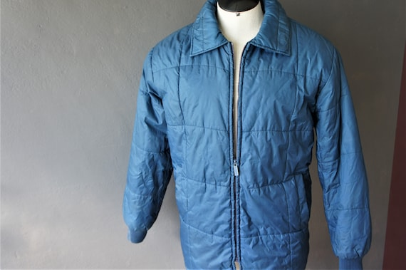 70s Ski Jacket/ Fur Lined Parka/ Haband/ Size 46