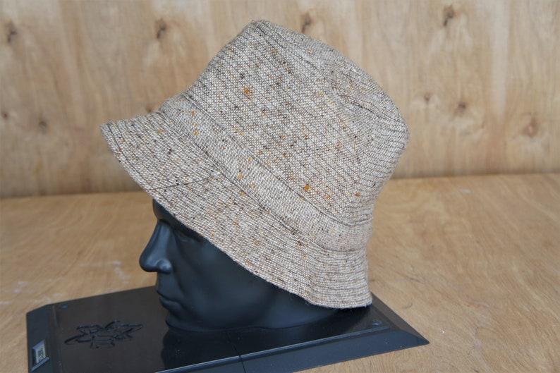 bfac19ae Donegal Tweed Bucket Hat/ David Hanna & Sons/ Made in Ireland/   Etsy