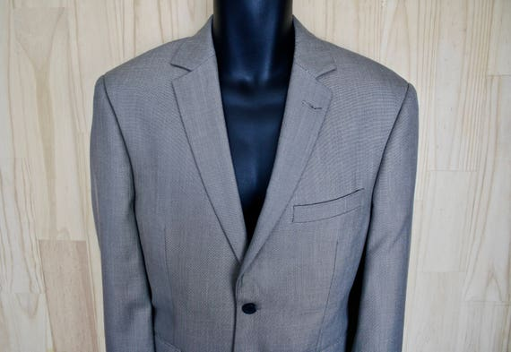 Perry Ellis Portfolio Men's Blazer/ c. 1990s Perry