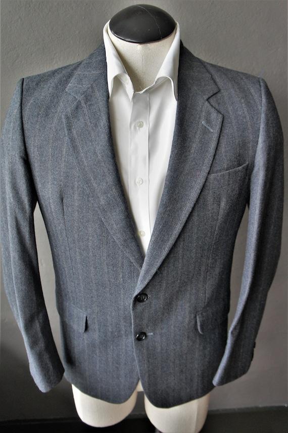 Pierre Cardin Wool Suit/ 1970s Pierre Cardin Coutu