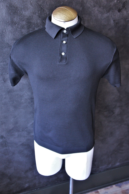 1960s – 70s Men's Ties | Skinny Ties, Slim Ties Mens Ban Lon Polo Shirt 1960SSize 40 $30.00 AT vintagedancer.com