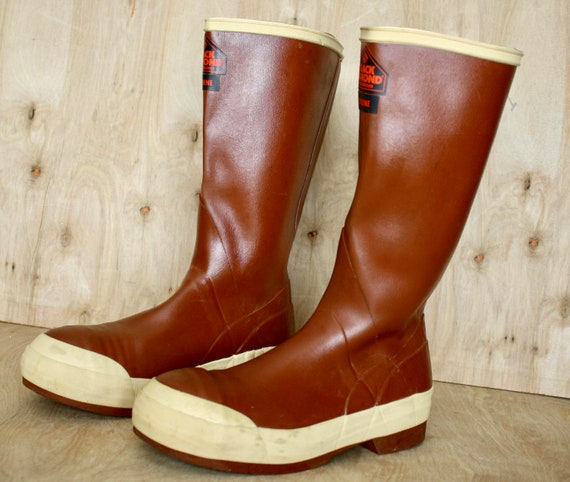Boots/Steel Toe Safety Boots/Vintage