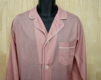 Men's Vintage Diplomat Pajamas/ c. 1960s/Mid Century Pajama Set