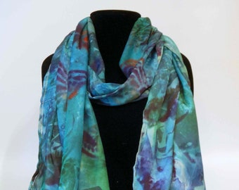 Silk scarves, women's scarves, fashion accessories, butterfly scarf
