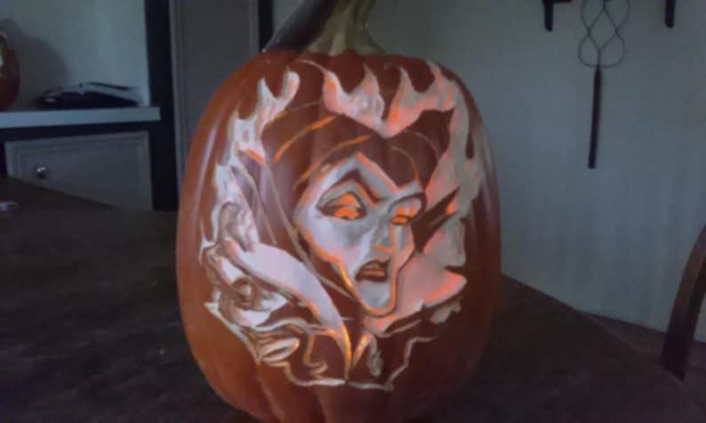 Disney Maleficent Funkin Pumpkin