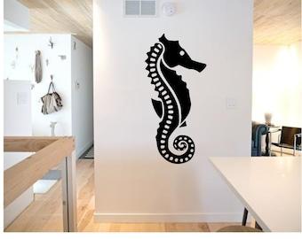 Seahorse Wall Decal