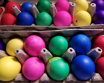 12 Mexican Confetti Eggs Cascarones, Easter, Cinco de Mayo, Fiesta Confetti, Wedding Decoration, Birthday Party, Taco Party, Paper Confetti