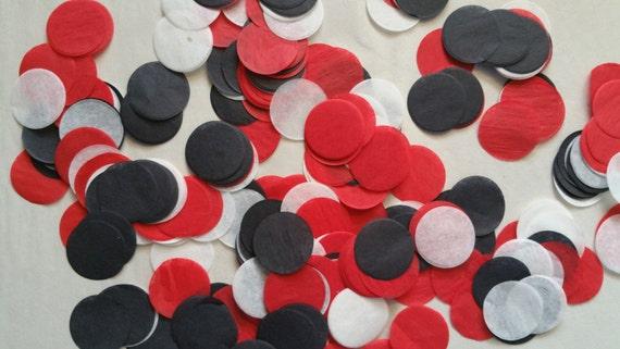 SÓLO 1.00 200 piezas pulgadas 1 círculo de papel confeti  9970fdfd16c