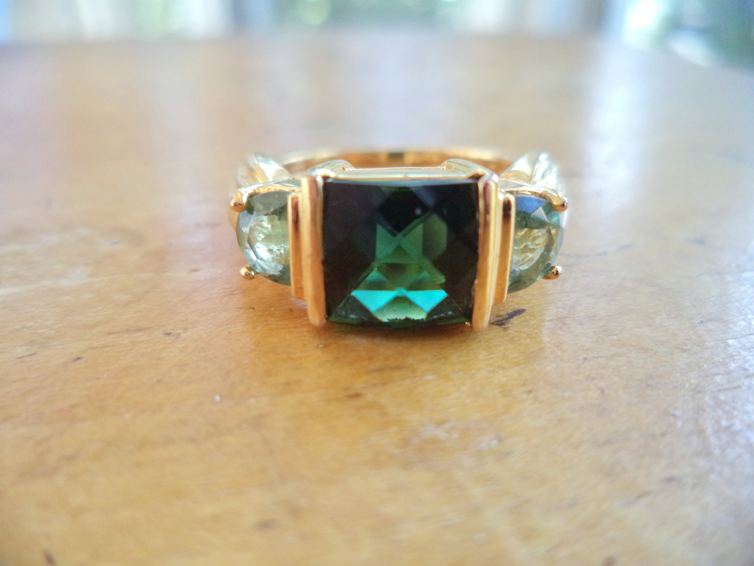Honesty New Beautiful Vermeil Ring With Different Colour Stars Size R Fine Jewellery Other Rings