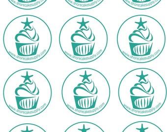 Custom Edible Image Cupcake or Oreo CookieToppers