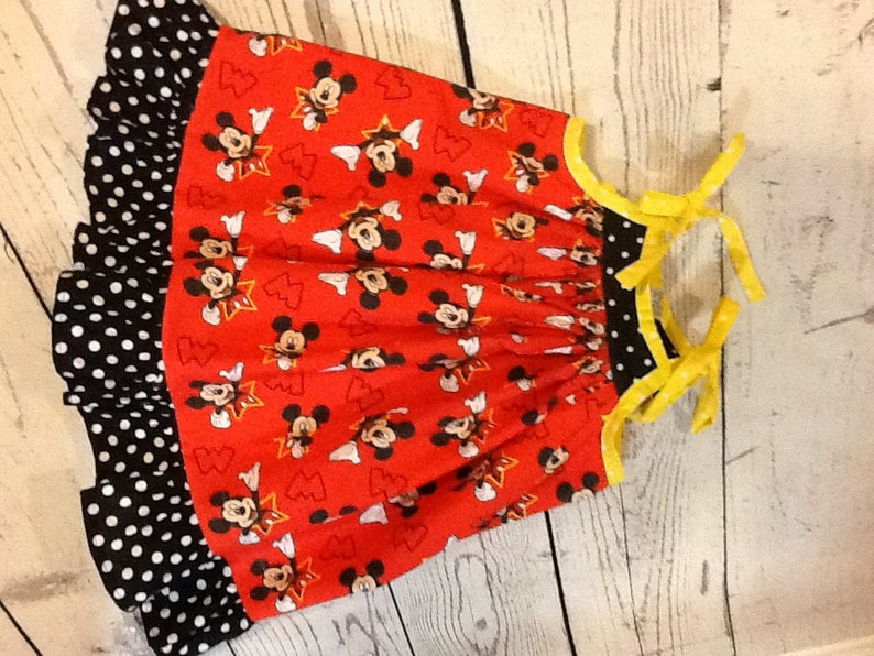girl disney dress Mickey dress swirl dress mickey disney girl party dress mickey mouse dress black,red,sleeve dress Disney dress