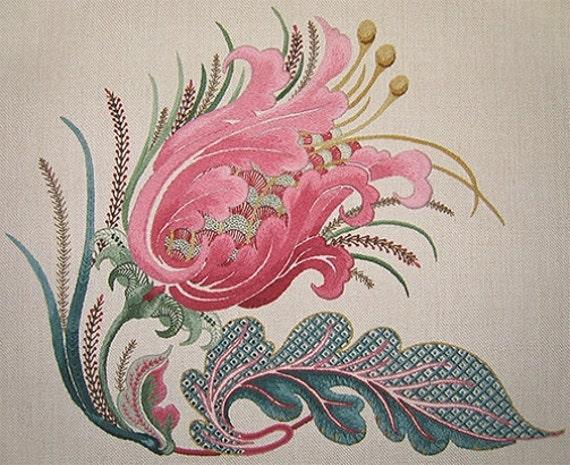 Talliaferro's La Serenissima Crewel Embroidery Pattern Etsy Best Crewel Embroidery Patterns