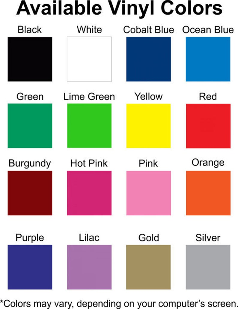 Custom Personalized Vinyl Mailbox Decal #9 SET OF 2-16 Colors To Choose From!