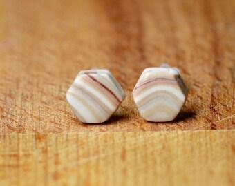 Earrings For Sensitive Ears - Tiny Earrings - Hypoallergenic Earrings - Clay Earrings - Tiny Stud Earrings - Polymer Clay Jewellery -