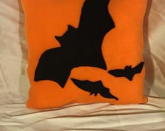 Halloween Bats Pillow