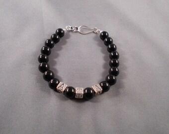 Beaded Fraternity (Alpha, Kappa or Omega) Bracelet