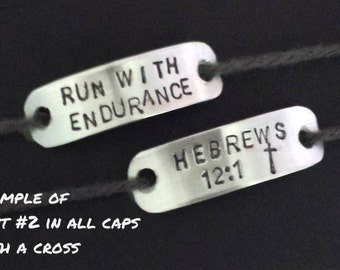 Shoe Tags ~ Runners Gift ~ Personalized shoe lace tags ~ SET of TWO ~ Inspirational gift for a runner~ Marathon charms ~excersise ~ fitness