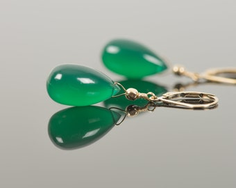Beautiful Red Onyx Earrings,Onyx Earrings,Mother/'s Day Earrings,Green Onyx Faceted Earrings,Perfect Gift for Girls,Handmade Jewelry Earrings