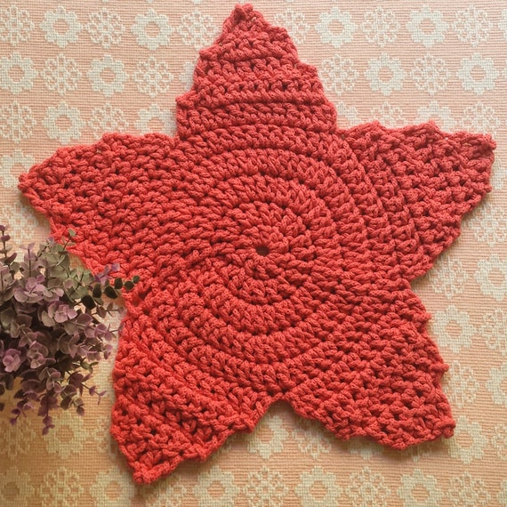 Handmade Crochet Rug / Pink Rug / Pink Carpet / Nursery