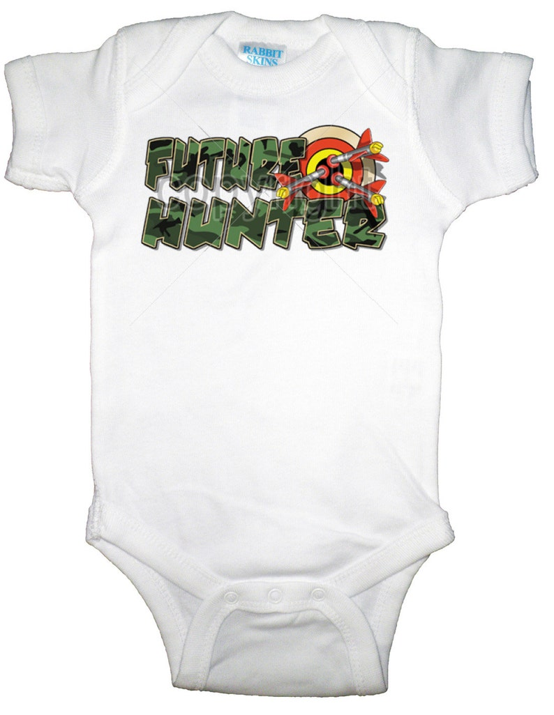 095fdba88 Camouflage Future Hunter Onesie or Toddler T-Shirt U.S. | Etsy