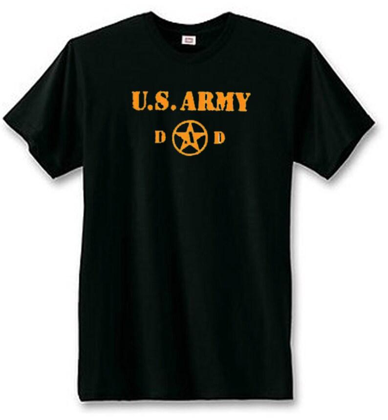 e84922fcc U.S. Army Dad T-Shirt Military Army T-Shirts U.S. Custom | Etsy